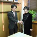 山東昭子 参議院議員にご訪問いただきました。
