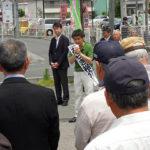 埼玉県議補選(さいたま市桜区)荒木裕介候補 出陣式がありました。