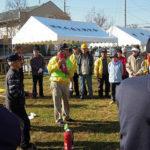 【蕨市錦町】郷町会の防災訓練がございました。
